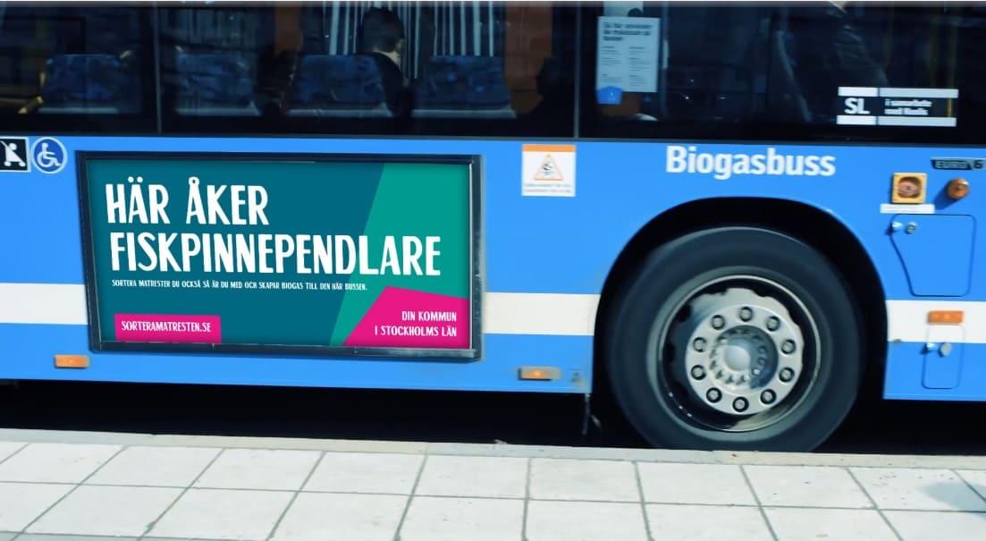 Biogas åt bussar